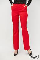 Расклешенные классические женские брюки с завышенной талией 1886 AVD c899bf7374662