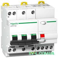 Дифавтомат 25A 300mA 6kA 4 полюса тип C тип AC A9D41725 iDPN N Vigi Schneider Electric