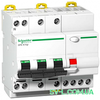 Дифавтомат 32A 300mA 6kA 4 полюса тип C тип AC A9D41732 iDPN N Vigi Schneider Electric