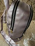 (32*27)Женский рюкзак искусств кожа love moschino качество городской стильный Популярный только опт, фото 3