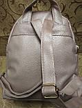 (32*27)Женский рюкзак искусств кожа love moschino качество городской стильный Популярный только опт, фото 4