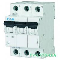 Автоматический выключатель 50A 4,5кА 3 полюса тип C PL4-C50/3 Eaton (Moeller)