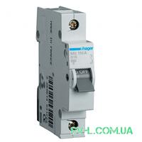 Автоматический выключатель 0,5A 6кА 1 полюс тип C MC100A Hager