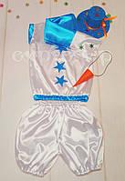 Новогодний костюм снеговика от 2,5 до 4 лет