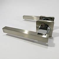 Ручка дверная Кедр R08.103 AL Сатин/хром