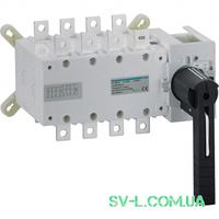 Переключатель поворотный I-0-II с универсальным общим выводом 4 полюса 400V 400А Hager HI456