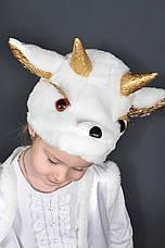 Костюм Козленок 3,4,5 лет Детский новогодний для мальчиков девочек Козочка Козлик 342, фото 2