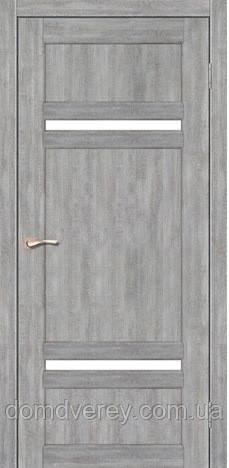 Двери межкомнатные,Korfad, Tivoli, TV-03, со стеклом сатин белым