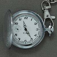 Молния карманные механические часы СССР , фото 1