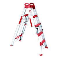 Лестница-стремянка раскладная трансформер Intertool T-5000