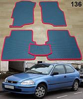 Коврики на Honda Civiс Hatchback VI 95-00. Автоковрики EVA, фото 1