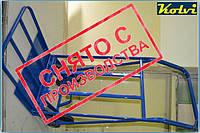 Тележка для подъема груза по ступенькам-изменение конструкции