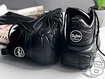 Женские кроссовки Buffalo Classic Low Leather Black 1339-14, фото 2