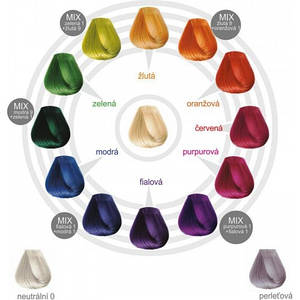 BBCos Краска для волос прямого окрашивания COLOR TRIBE, 100ml