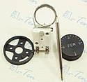 Терморегулятор механический от 30 до 90*С (16 А / 250 В) на 3 контакта. FER (Турция), фото 2