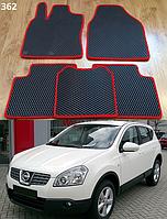 Коврики на Nissan Qashqai (J10) '07-10. Автоковрики EVA, фото 1