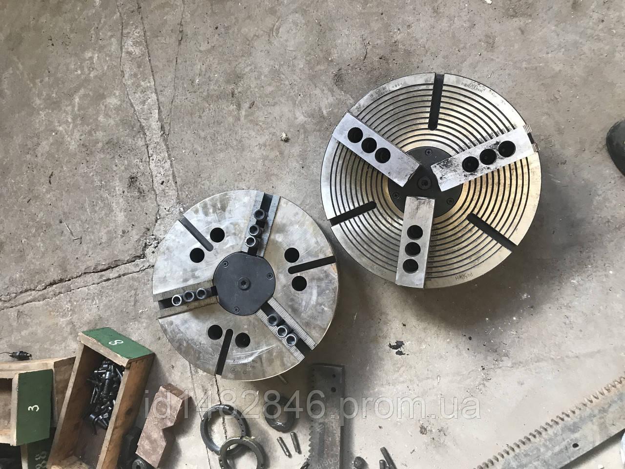Патрон токарный механизированный пневмозажим D400 7102-0087-1-2