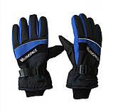 Рукавички лижні з підігрівом кожного пальця WARMSPACE-P1 + акумулятори 2000мАч + зарядний. 40-55 З, фото 2