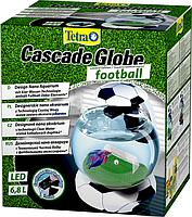 Аквариум Tetra Cascade Globe Football для петушка и золотой рыбки 6,8 литров