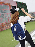 Рюкзак Sujimima сине-белый, фото 2