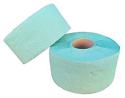 Туалетний папір «Джамбо» одношарова зелена з перфорацією. В рулоні 100 м (Green ix)