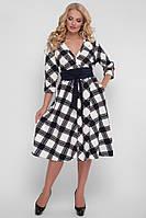 Платье Луиза шахматка , фото 1