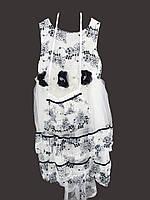 Нарядное платье для девочки 373