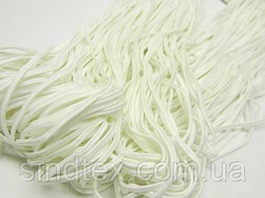 10,25 ПЭ БЛ 000 - Сутаж п/ефірний 2,5 мм білий