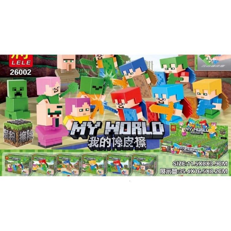"""Конструктор """"Стивы и Герои"""" Minecraft Lele 26002"""