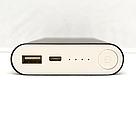 Портативное зарядное устройство Power Bank Mi, Павер Банк чёрного цвета, аналог Xiaomi, фото 2