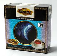 """Чёрный цейлонский чай Minhaj (Минхадж) """"Для Полуночников"""" 2,5г*100 пакетиков"""
