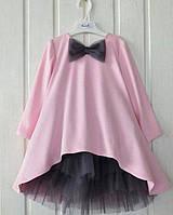 Нарядное платье + юбка для девочки 5 - 12 лет