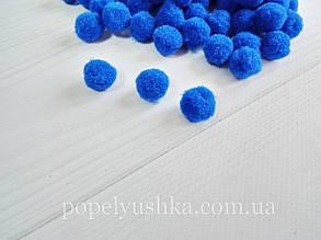 Помпони 1,8 см сині (50 шт)