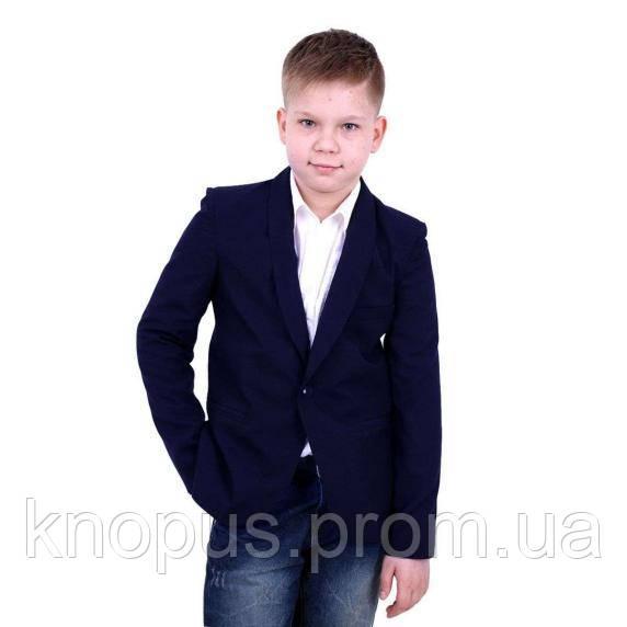 Пиджак для мальчика синий (P029429) Тимбо