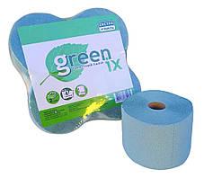 Туалетний папір зелена/рожева двошарова з перфорацією. 30 м в рулоні. В уп. 4 шт (Green ix)