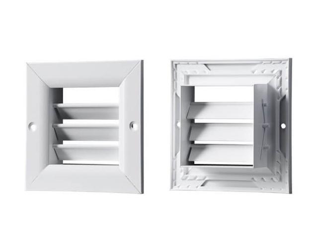 Вентс ОРГ - вентиляционные решетки однорядные, регулируемые