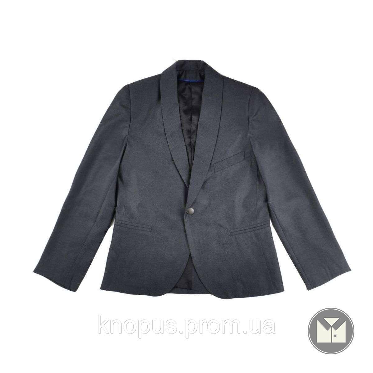 Копия Пиджак для мальчика серый (P029504) Тимбо