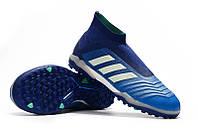 Футбольные сороконожки adidas Predator Tango 18+ TF Unity Ink/Aero Green/Hi-Res Green, фото 1