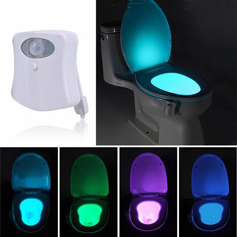 Підсвічування для унітазу LED з датчиком руху LIGHT BOWL Розпродаж PR1