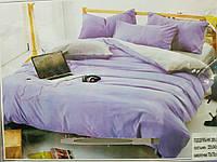 Комплект постельного белья евро однотонка сатин (качество хорошее) размер 200х220 наволочки 70х70 - 2шт