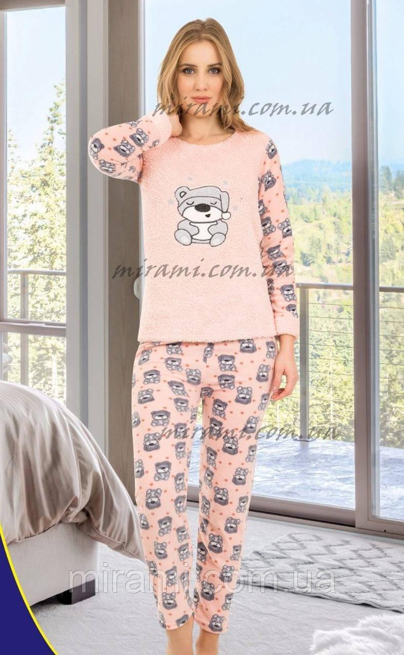 056eecbcc7663 Теплая женская пижама из флиса и махры, цена 350 грн., купить в Харькове —  Prom.ua (ID#774852444)