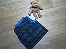 Тройка на мальчика жилетка, реглан и джинсы Peanut Buttons Размер 12 мес, фото 3
