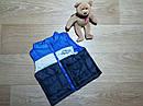 Тройка на мальчика жилетка, реглан и джинсы Peanut Buttons Размер 12 мес, фото 2