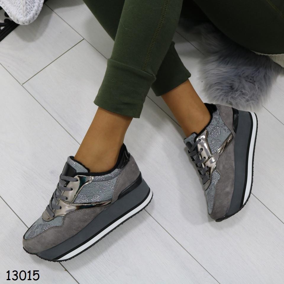 Модные кроссовки сникерсы теплые женские р. 37, 38, 39, 40, 41
