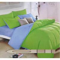 Комплект постельного белья 2ка однотонка сатин (качество хорошее) размер 180х200 наволочки 4 шт  разные цвета