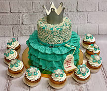 """Детский торт  """"Маленькая принцесса"""""""