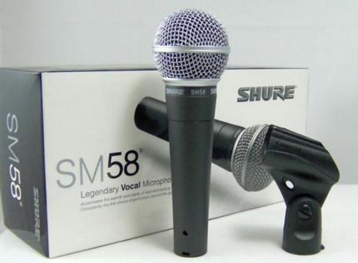 Микрофон SHURE SM-58(MIC) PR5