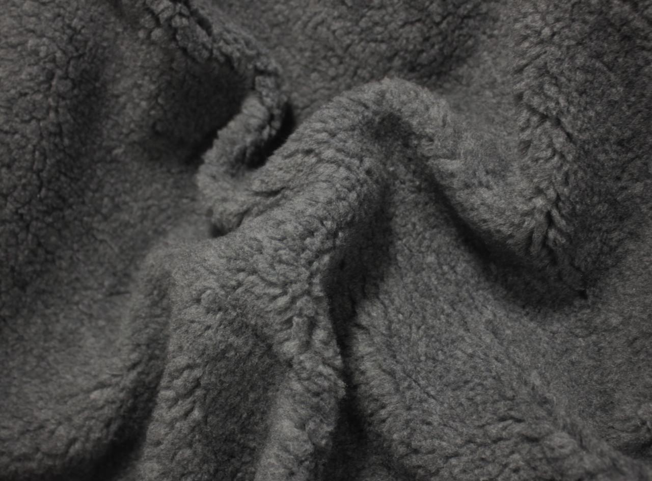 Мех искусственный овчина серая
