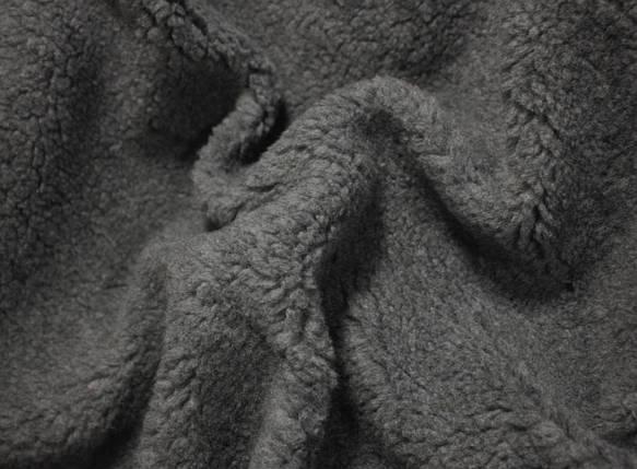 Мех искусственный овчина серая, фото 2