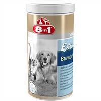 8in1 Дрожжи с чесноком для собак Бреверс 260таб